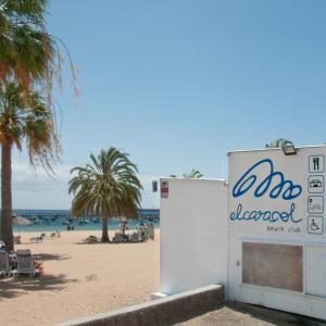 Kiosko Caracol Beach Bar cocktail - ubicación acceso 1/ junto parada guaguas
