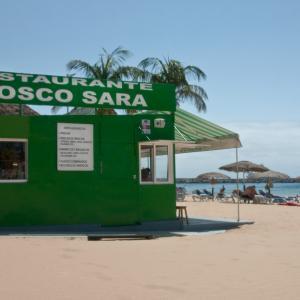 Kiosko Sara - ubicación entre acceso 7 y 8