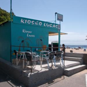 Kiosko Lucas - ubicación entre accesos 4 y 5